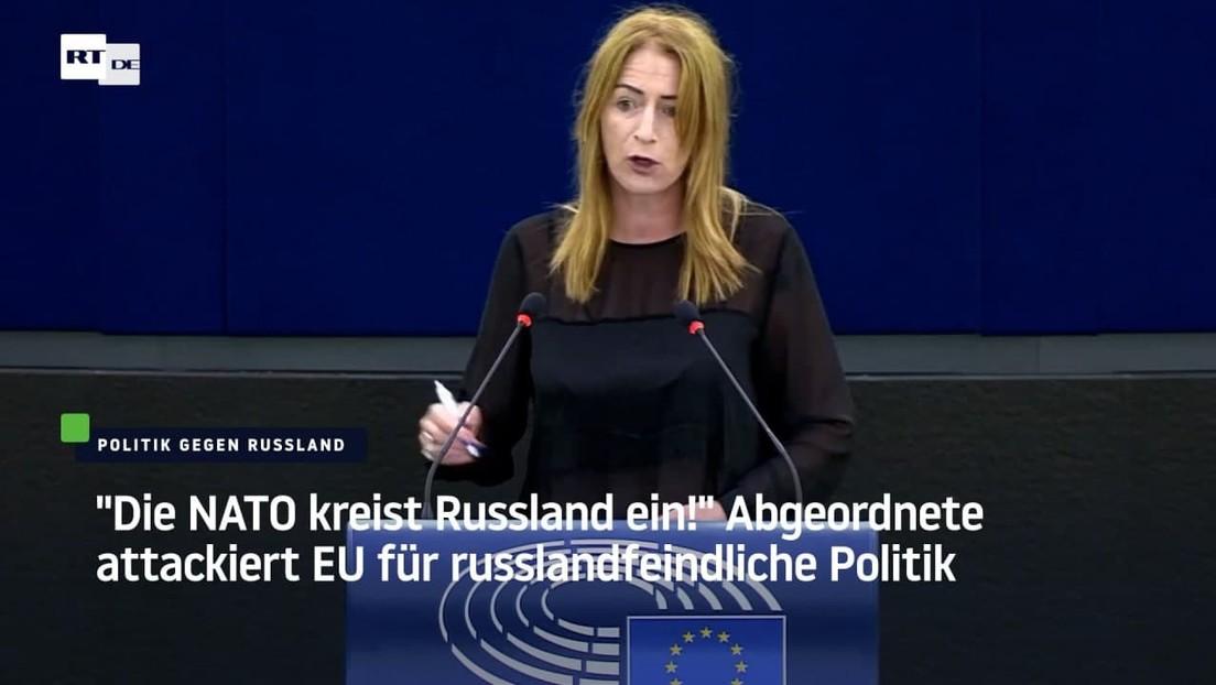 """""""Die NATO kreist Russland ein!"""" Abgeordnete attackiert EU für russlandfeindliche Politik"""