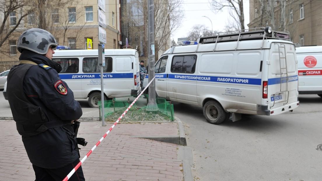 Gebiet Woronesch in Russland: Mann tötet eine Familie und verübt Bombenanschlag auf Polizeibehörde