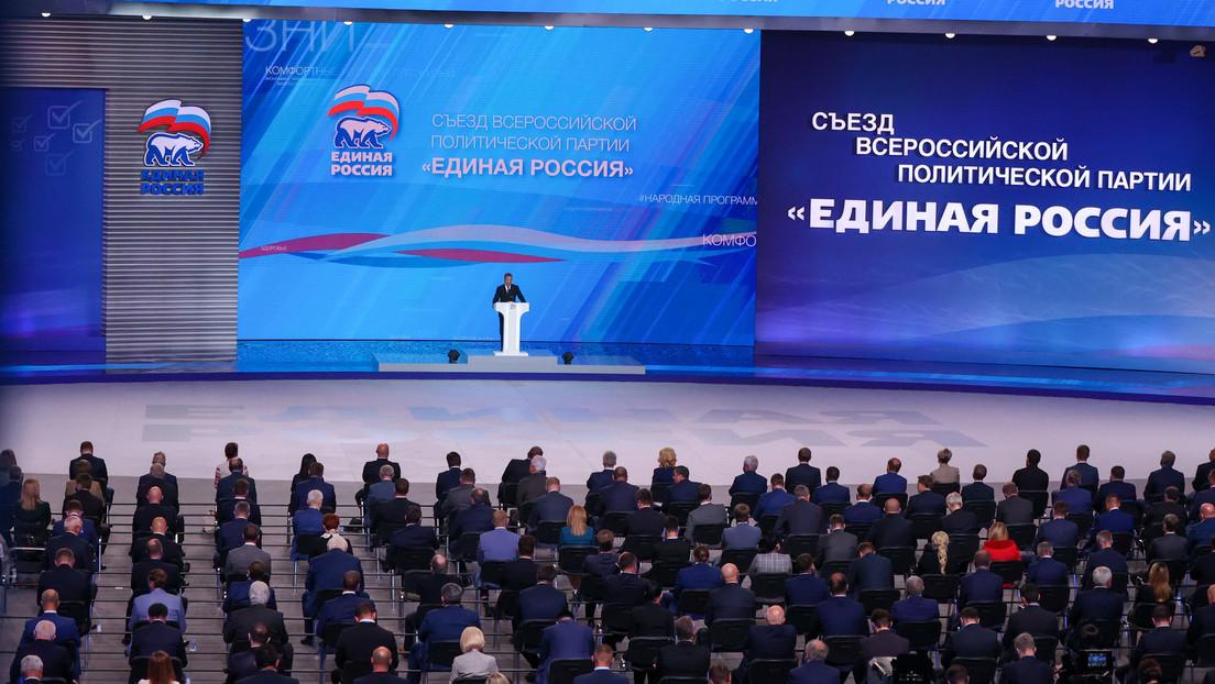 Leitfaden für russische politische Parteien vor den Parlamentswahlen 2021: Einiges Russland