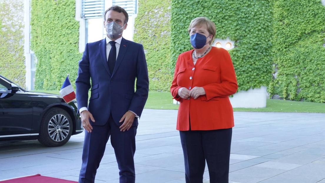 LIVE: Paris – Merkel und Macron geben Pressekonferenz