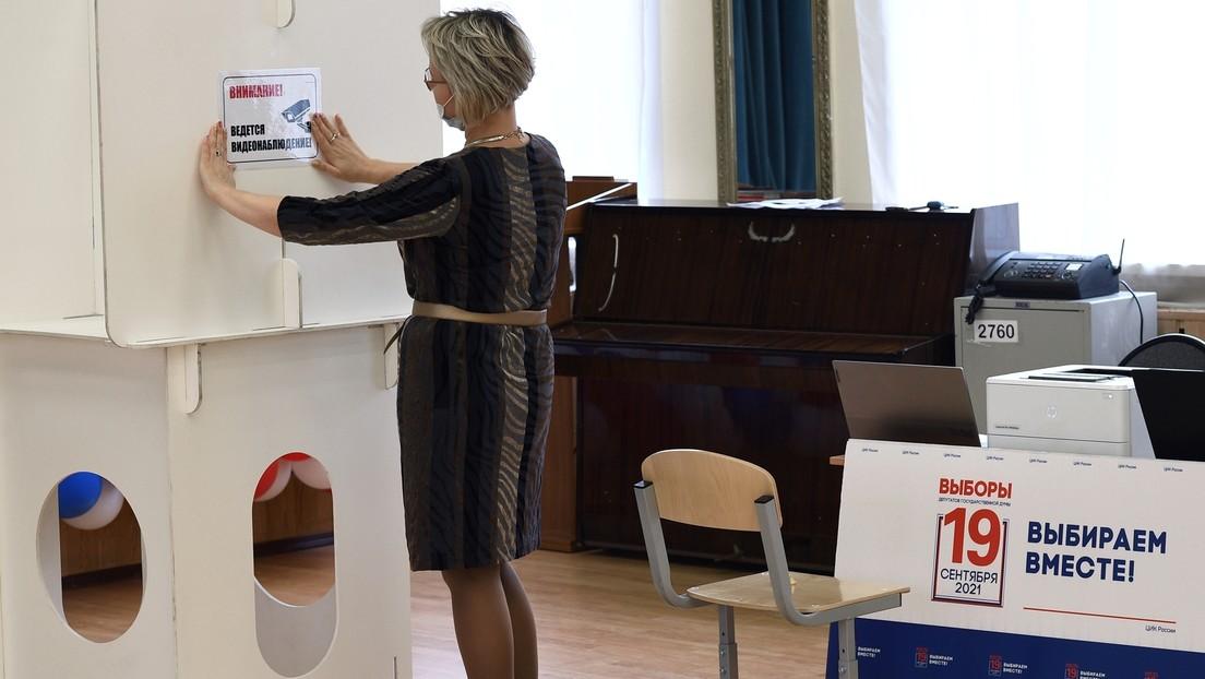 Frau stirbt in Wahllokal in Nowosibirsk
