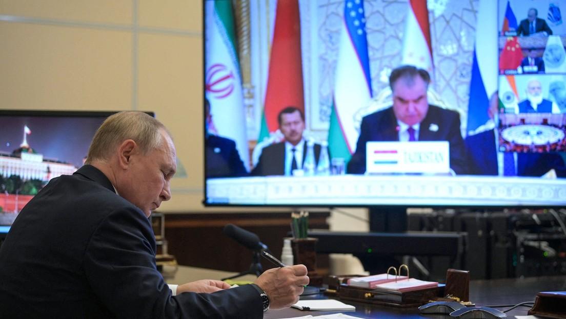 Nach Rückzug des Westens aus Afghanistan: Putin plädiert für stärkere eurasische Partnerschaft