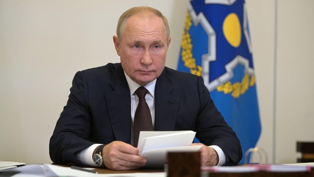 Wladimir Putin mahnt zur Zusammenarbeit mit Taliban