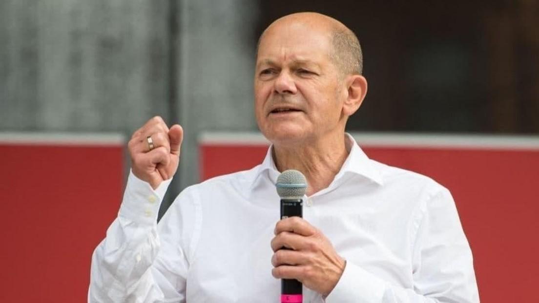 LIVE: SPD-Kanzlerkandidat Olaf Scholz hält Wahlkampfveranstaltung in München ab
