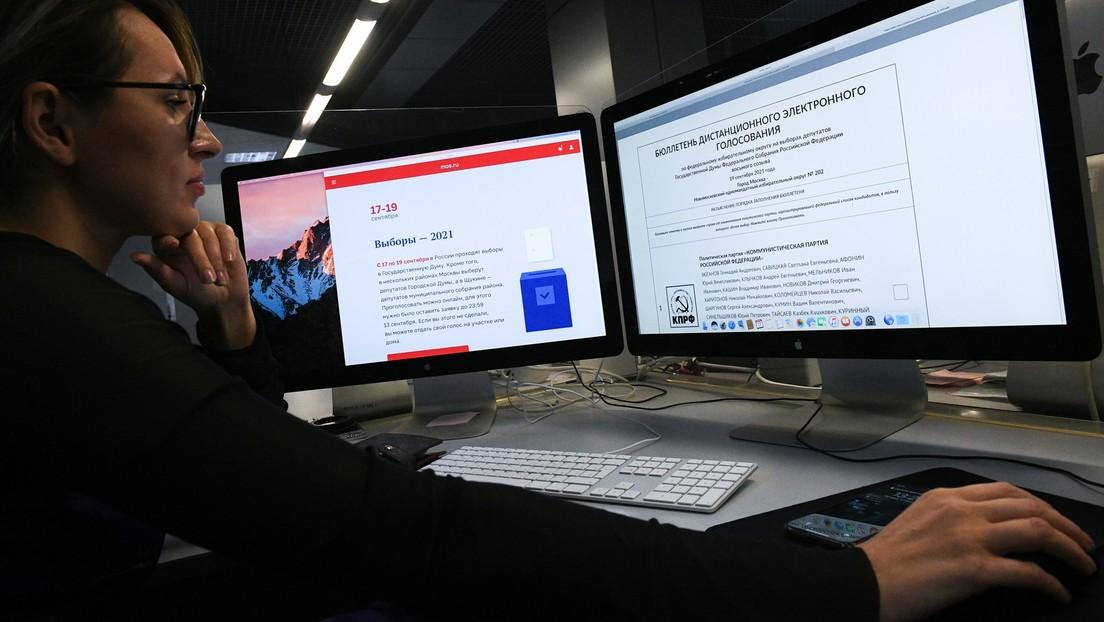 Russlands Wahlbehörde vermeldet drei ausländische Cyberangriffe am ersten Tag der Parlamentswahl