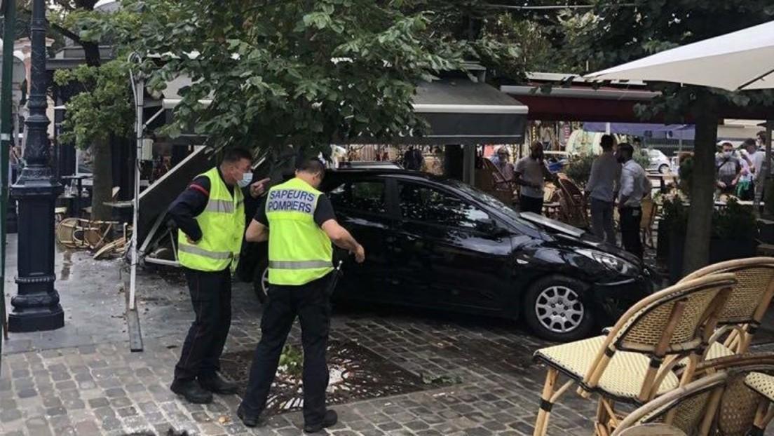 Frankreich: Auto fährt in Restaurantterrasse – mehrere Verletzte