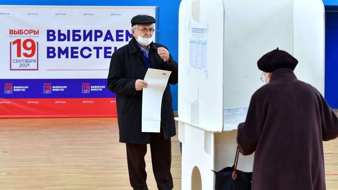 Parlamentswahl in Russland: Wahlbeteiligung übertrifft 40 Prozent