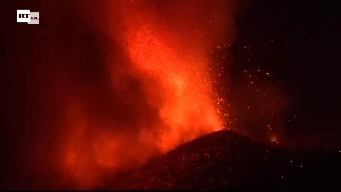 LIVE von den Kanarischen Inseln: Vulkanausbruch auf La Palma nach 50 Jahren