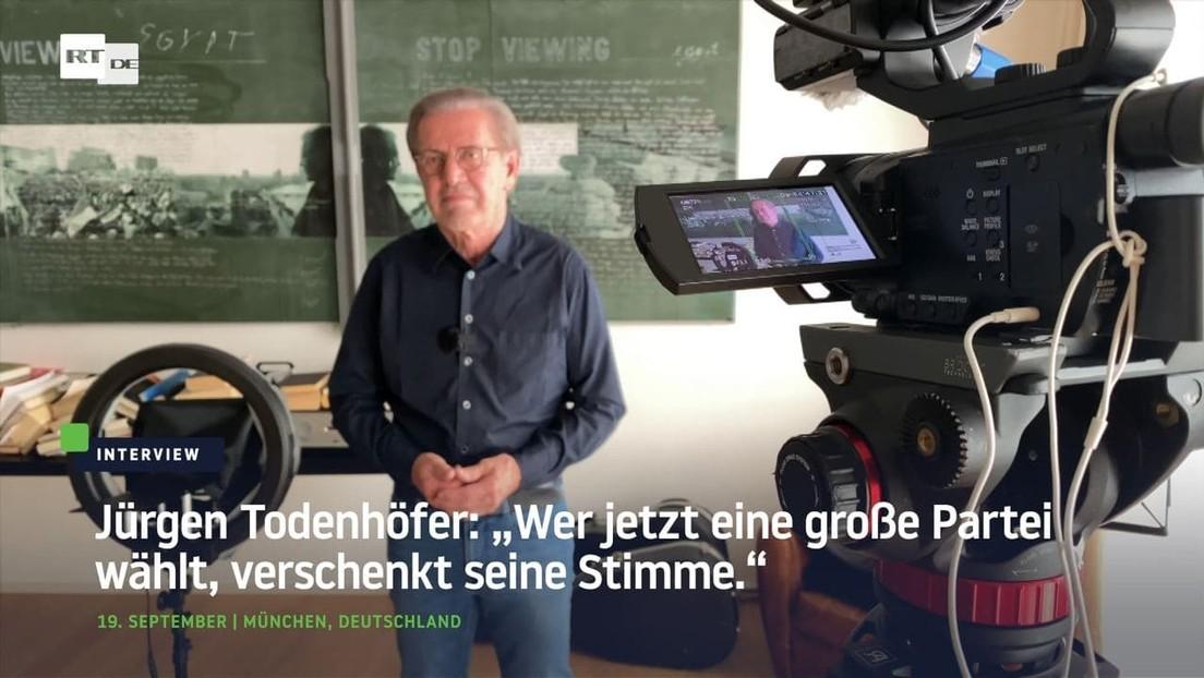 """""""Das Land ist erstarrt"""" – Warum Jürgen Todenhöfer mit einer eigenen Partei antritt"""