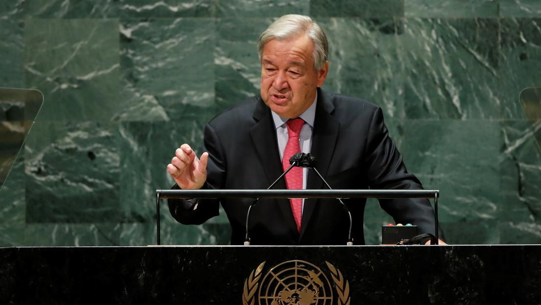 UN-Chef sagt der Ukraine Unterstützung beim Schutz ihrer territorialen Integrität zu