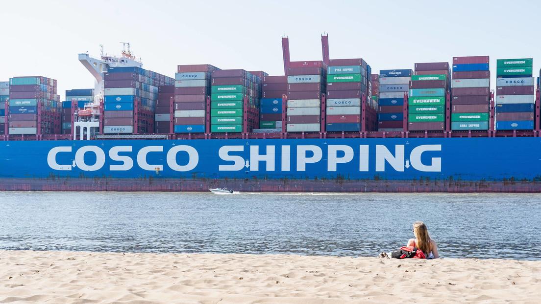 Chinesischer Staatskonzern kauft Anteile von Hamburger Hafen