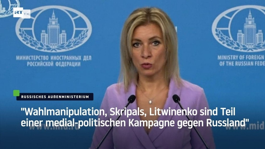 """""""Wahlmanipulation, Skripals, Litwinenko sind Teil einer medial-politischen Kampagne gegen Russland"""""""