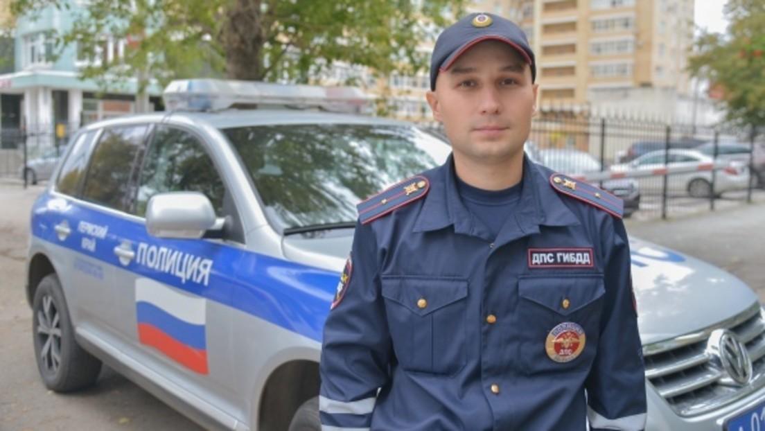 """Nach Amoklauf in Perm: Putin zeichnet Polizisten mit """"Orden des Mutes"""" für Festnahme des Täters aus"""
