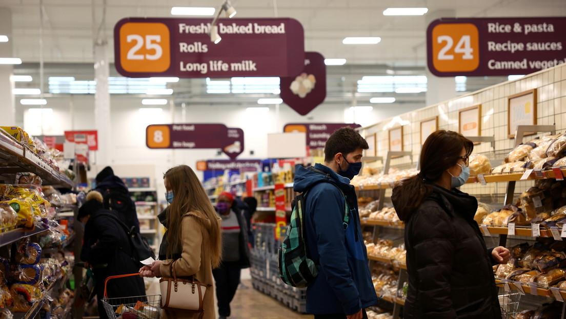 Britische Regierung warnt vor drohender Lebensmittelkrise aufgrund steigender CO2-Preise