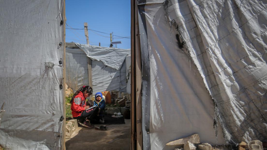 """NGO macht auf Leid in syrischen Flüchtlingscamps aufmerksam: Kinder """"rotten vor sich hin"""""""