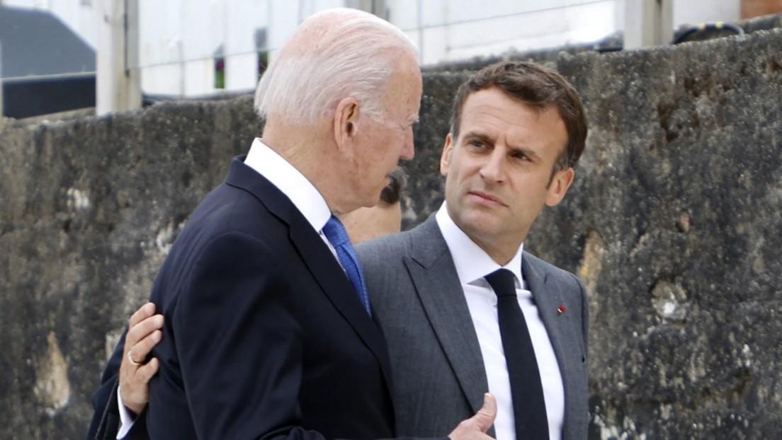 Nach Telefonat zwischen Biden und Macron – Washington und Paris haben sich wieder lieb