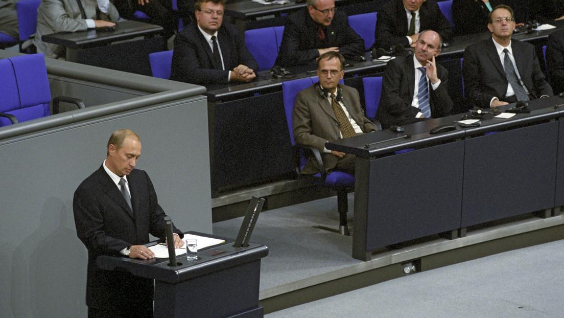 Ein leidenschaftliches Angebot und was daraus wurde – Vor 20 Jahren sprach Putin im Bundestag