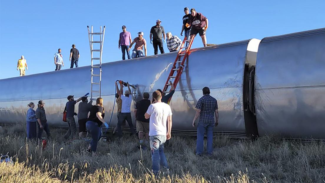 Mindestens drei Tote bei Zugentgleisung im US-Bundesstaat Montana