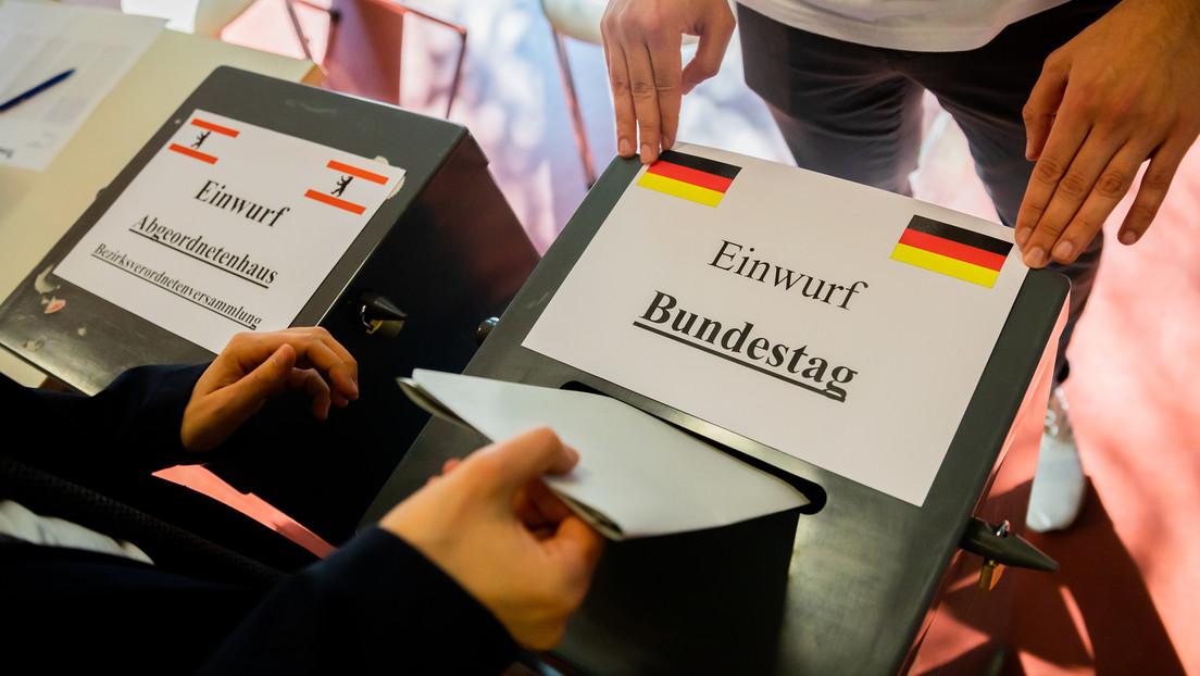 Berlin: Superwahlsonntag mit vier Abstimmungen hat begonnen
