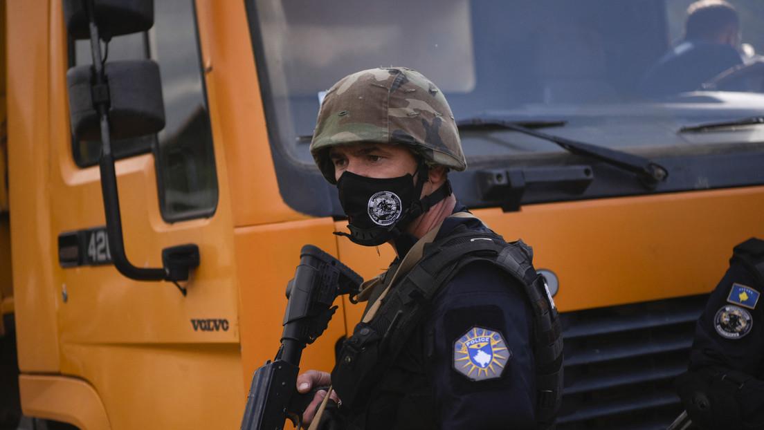 Streit um Autokennzeichen: Kosovo und Serbien verlegen Truppen an die Grenze