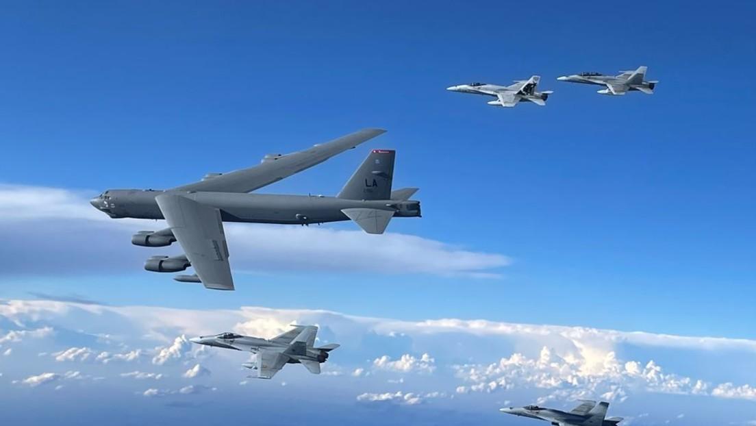 Russische Kampfjets fangen US-Bomber an Pazifikgrenze ab