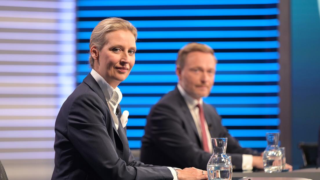 """""""Wettbewerbsverzerrung"""": Fernsehen als Bühne für Schlagabtausch zwischen Weidel und Zamperoni"""