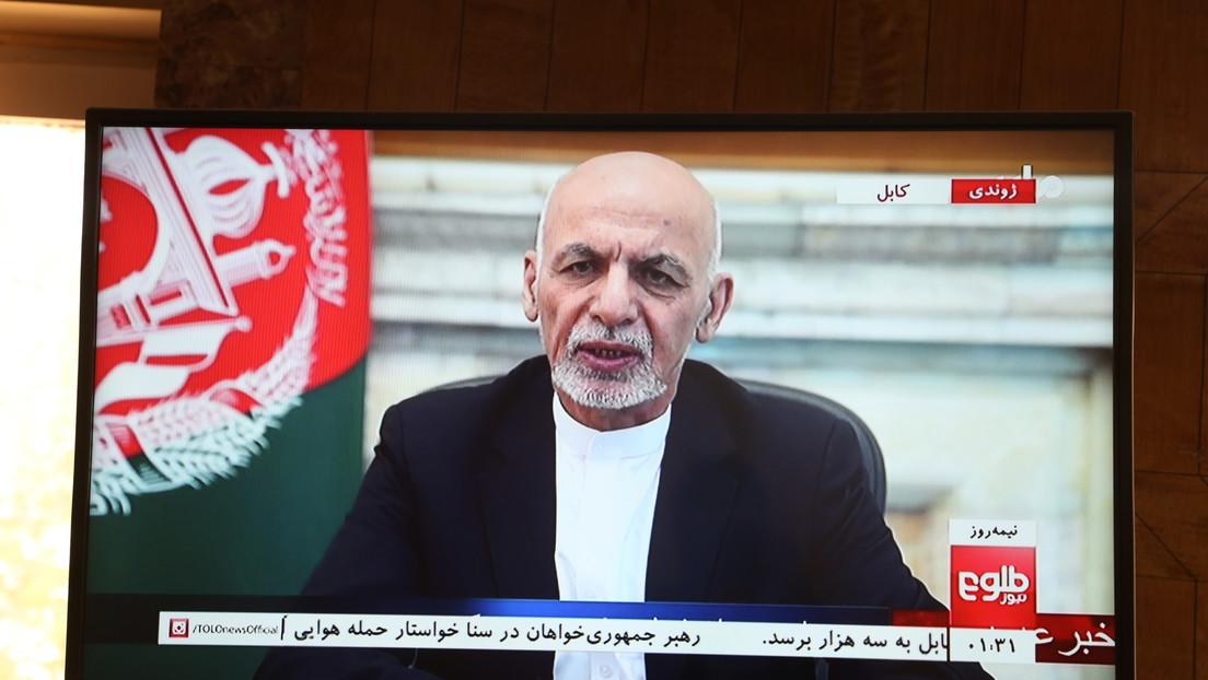 Geflohener afghanischer Präsident Opfer von Hackerangriff? Aufruf zur Anerkennung der Taliban