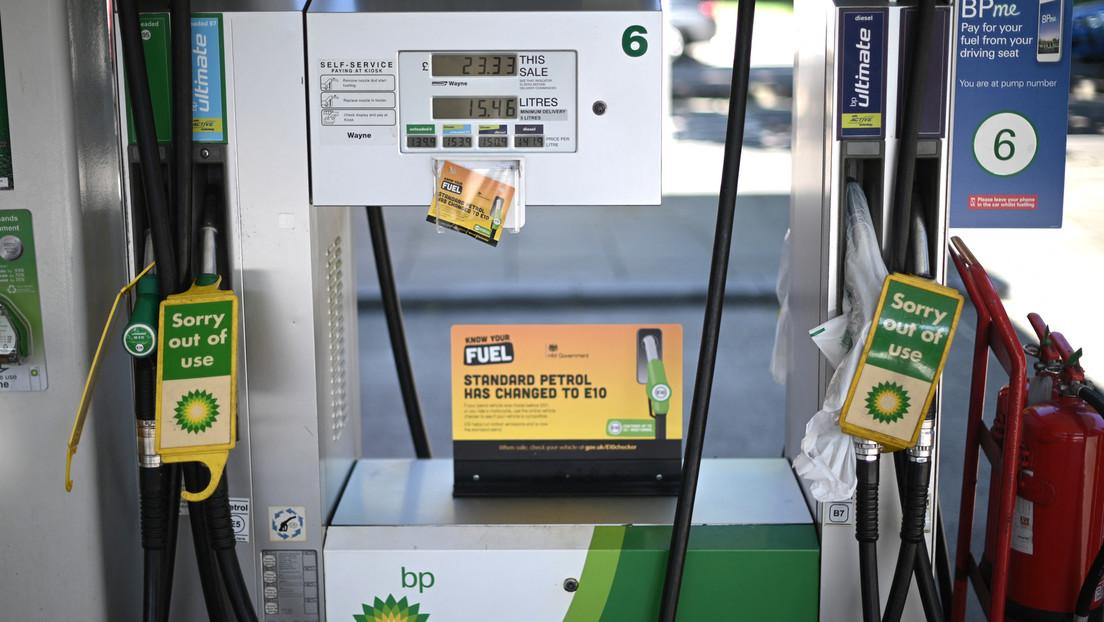 Panikkäufe an Zapfsäulen in Großbritannien – Regierung dementiert Kraftstoffmangel