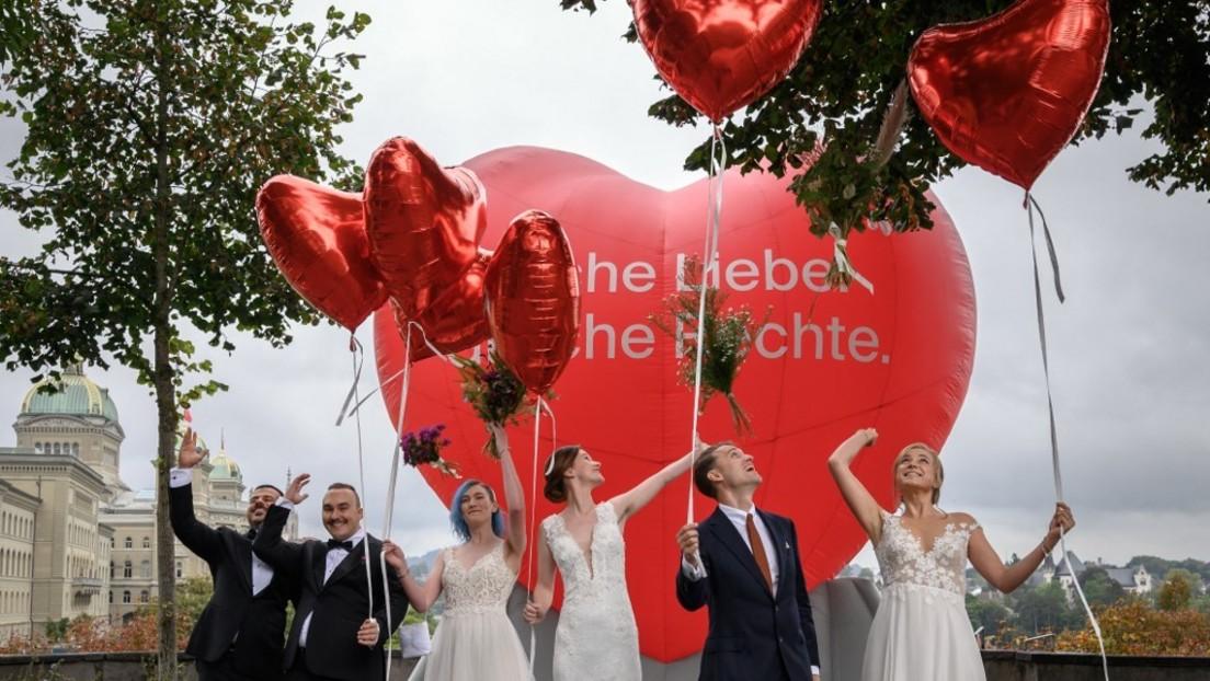Referendum zur Ehe für homosexuelle Paare: Schweiz sagt Ja