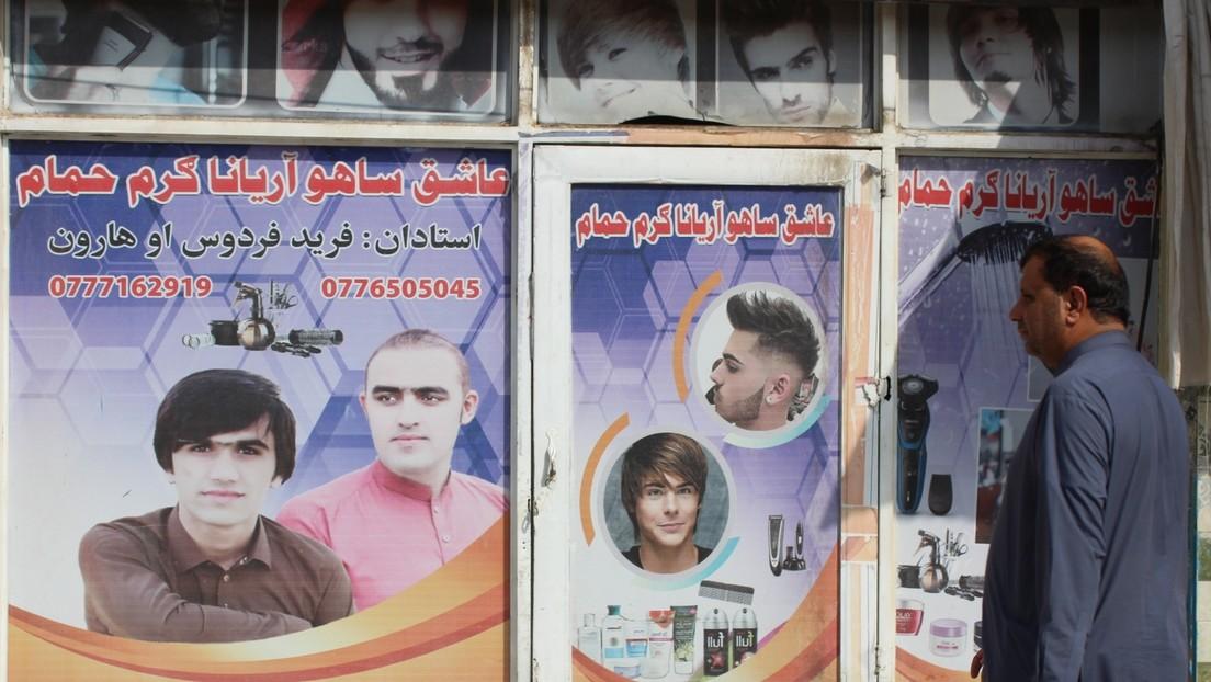Hiobsbotschaft für afghanische Friseure: Taliban verbieten Rasieren des Barts aus religiösen Gründen