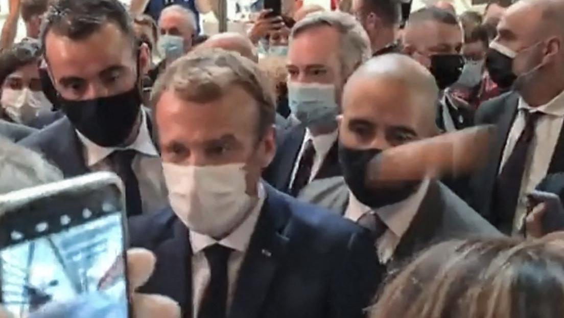 Ei der Daus! Emmanuel Macron bei Gastronomie-Messe in Lyon mit Ei beworfen