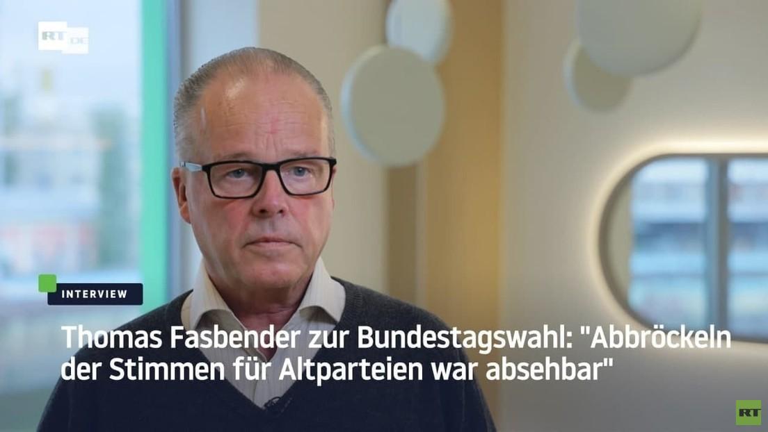 """Thomas Fasbender zur Bundestagswahl: """"Abbröckeln der Stimmen für Altparteien war absehbar"""""""