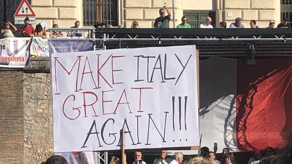 Italien: Hochrangiger Polizistin droht nach Teilnahme an Demo gegen den Grünen Pass Suspendierung