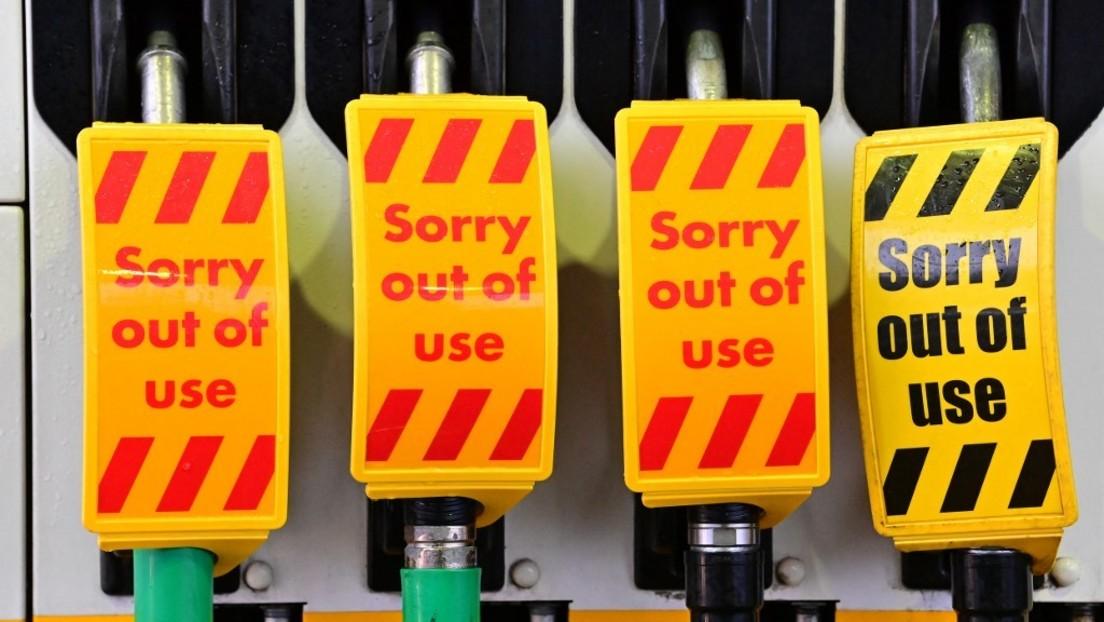 Medienberichte: Großbritannien will wegen Treibstoffmangels Soldaten als Lkw-Fahrer einsetzen