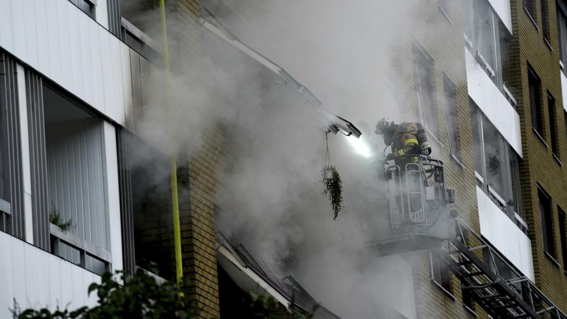 Explosion im schwedischen Göteborg: Mehr als 20 Menschen im Krankenhaus