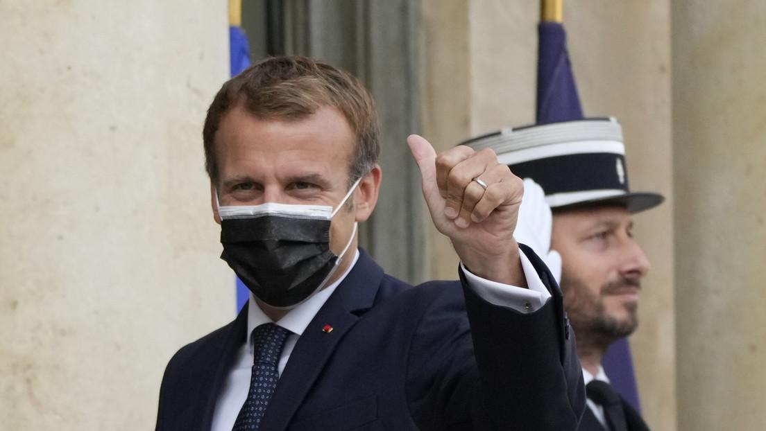 Macron: Frankreich bleibt indopazifische Macht, unabhängig von einem Vertrag