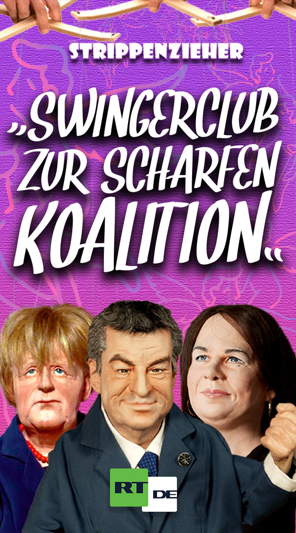 Swingerclub zur scharfen Koalition   Da treibt es doch jeder mit jedem