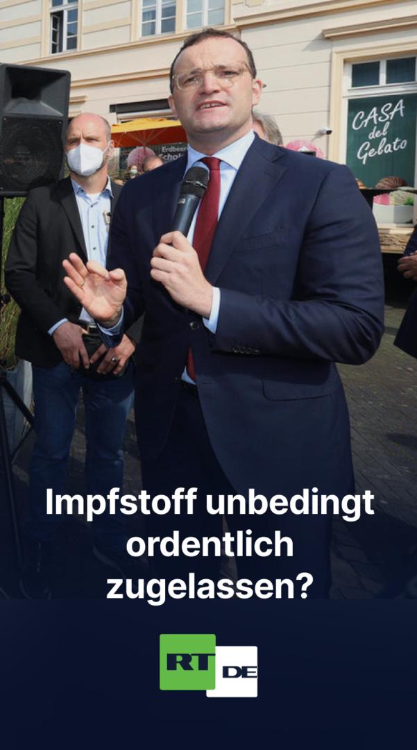 Jens Spahn verheddert sich im Gespräch mit Kritikern