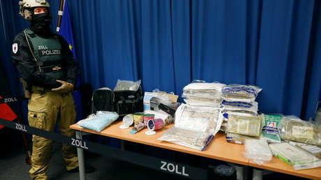 Schlag gegen mutmaßliche Drogenhändler in Berlin: Knapp 100 Kilogramm Rauschgift beschlagnahmt