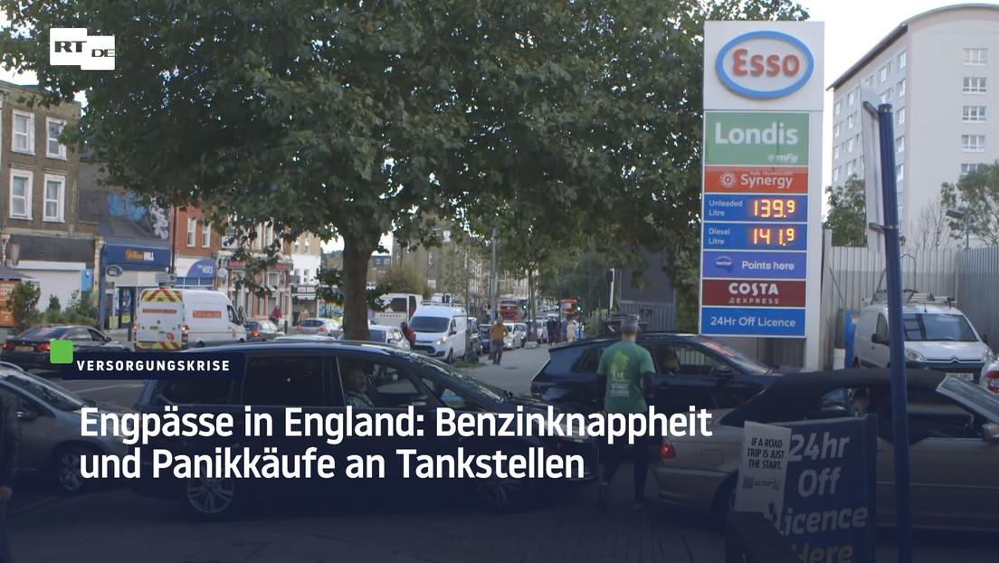 Regierung wiegelt ab: Dennoch Panikkäufe an Tankstellen in England