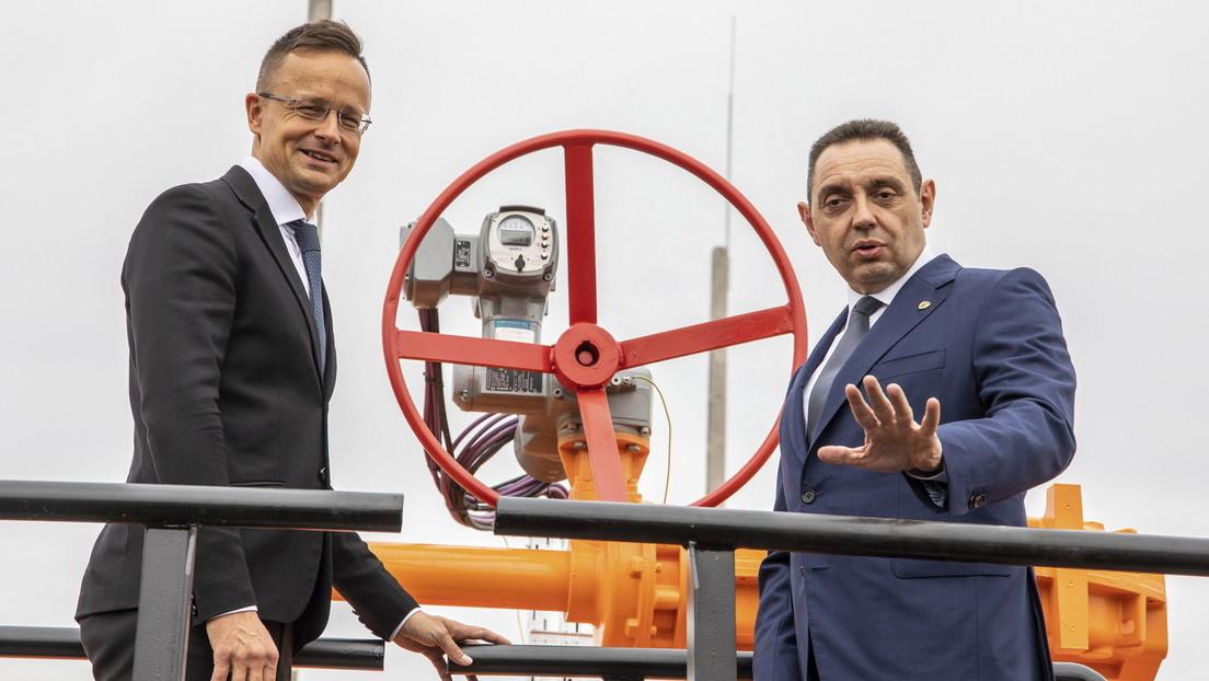 Gazprom beginnt mit Gaslieferungen nach Ungarn unter Umgehung der Ukraine