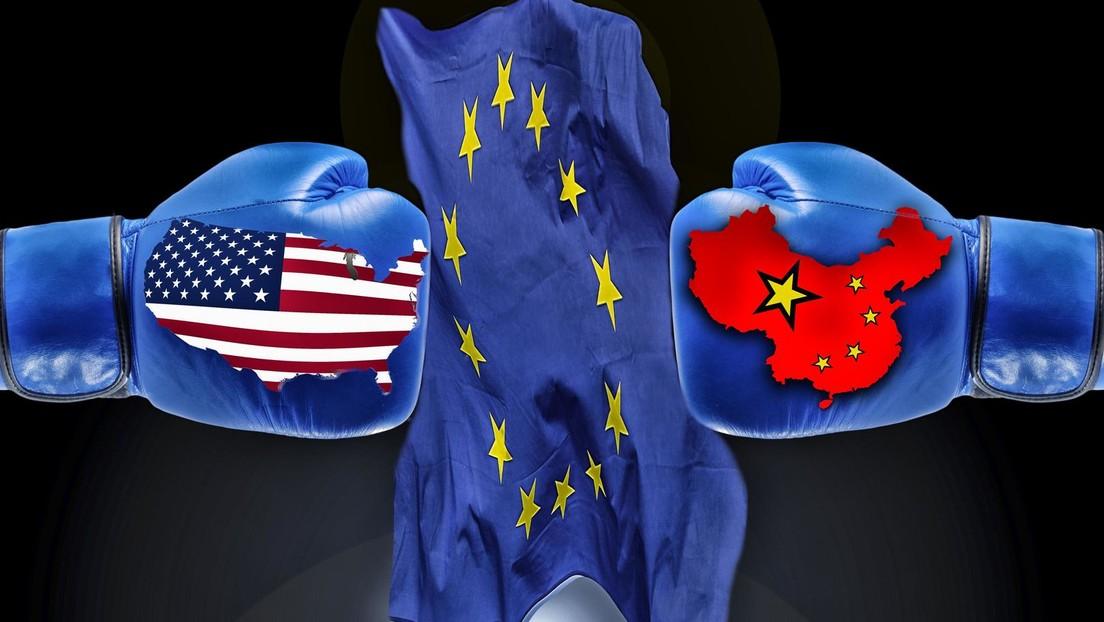 Die EU droht im Krieg gegen die chinesische Technologie zu Amerikas Schoßhund zu werden