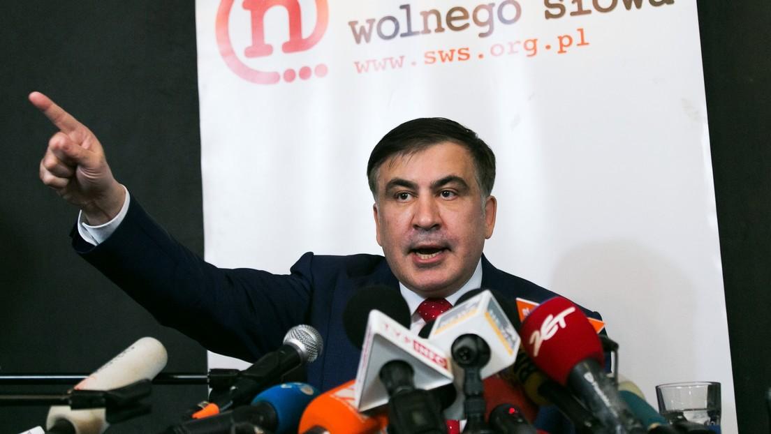 Inhaftierter Ex-Präsident Georgiens wendet sich an seine Anhänger