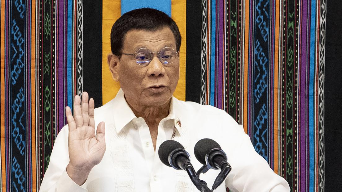 """Philippinischer Präsident Duterte: """"Ich gebe heute meinen Rückzug aus der Politik bekannt"""""""