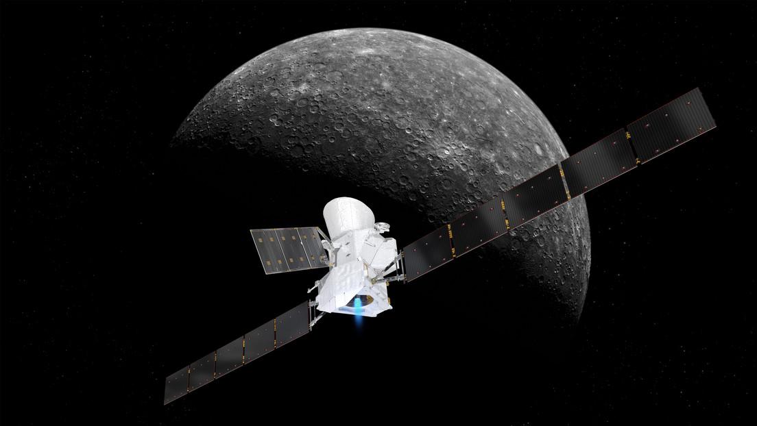 Europäisch-japanische Sonde BepiColombo sandte erstes Foto vom Merkur
