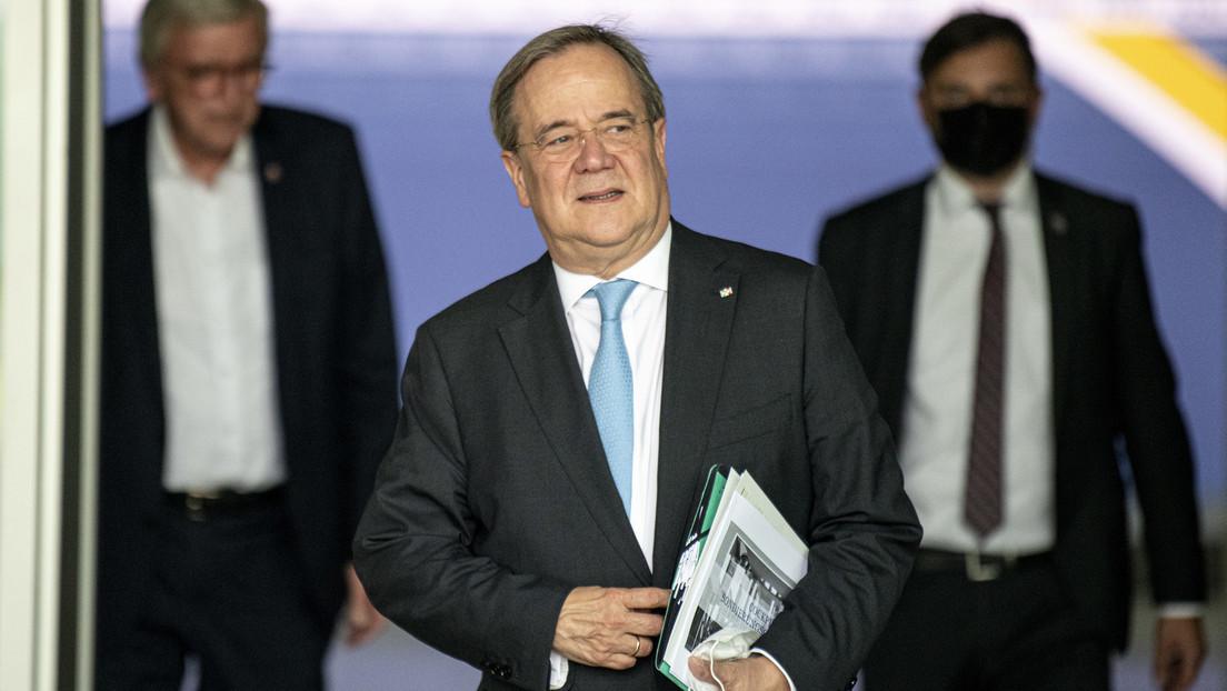 Vor Gesprächen zwischen Union und FDP: Laschet berät zwei Stunden mit CDU-Sondierern