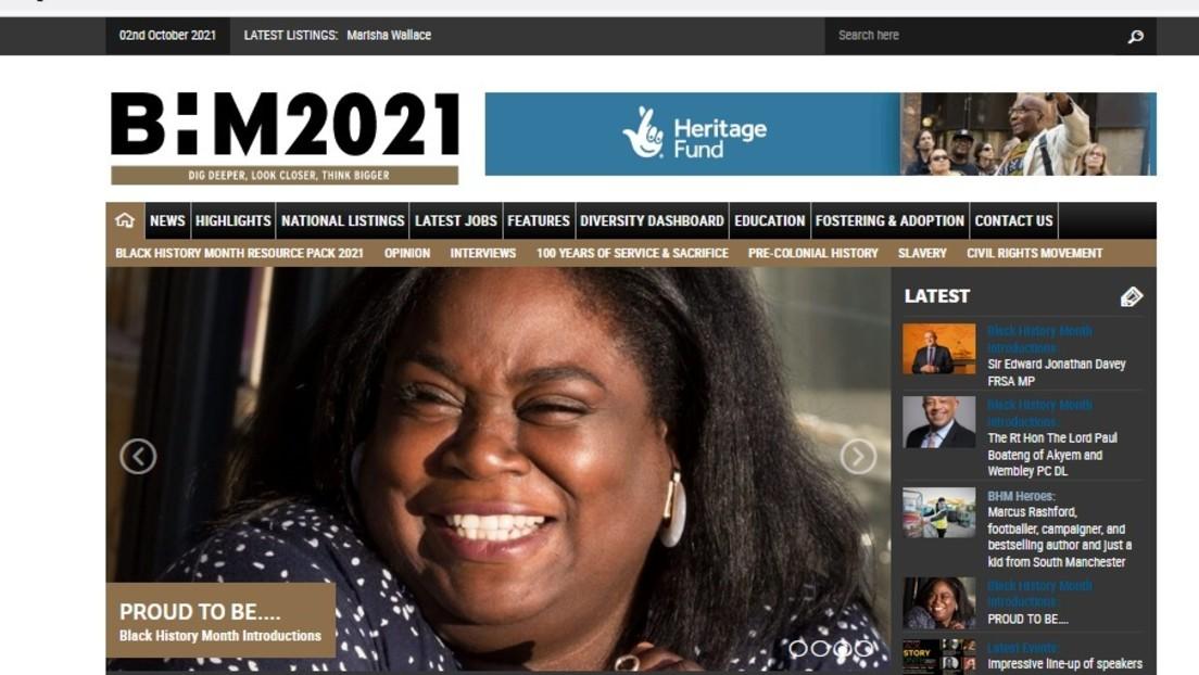"""Streit um britisches Webportal """"Black History Month"""" – Weiße angeblich """"genetisch fehlerhaft"""""""