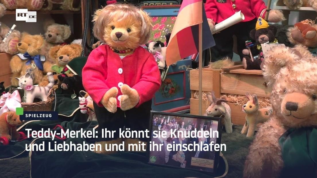 Teddy-Merkel: Ihr könnt sie Knuddeln und Liebhaben und mit ihr einschlafen