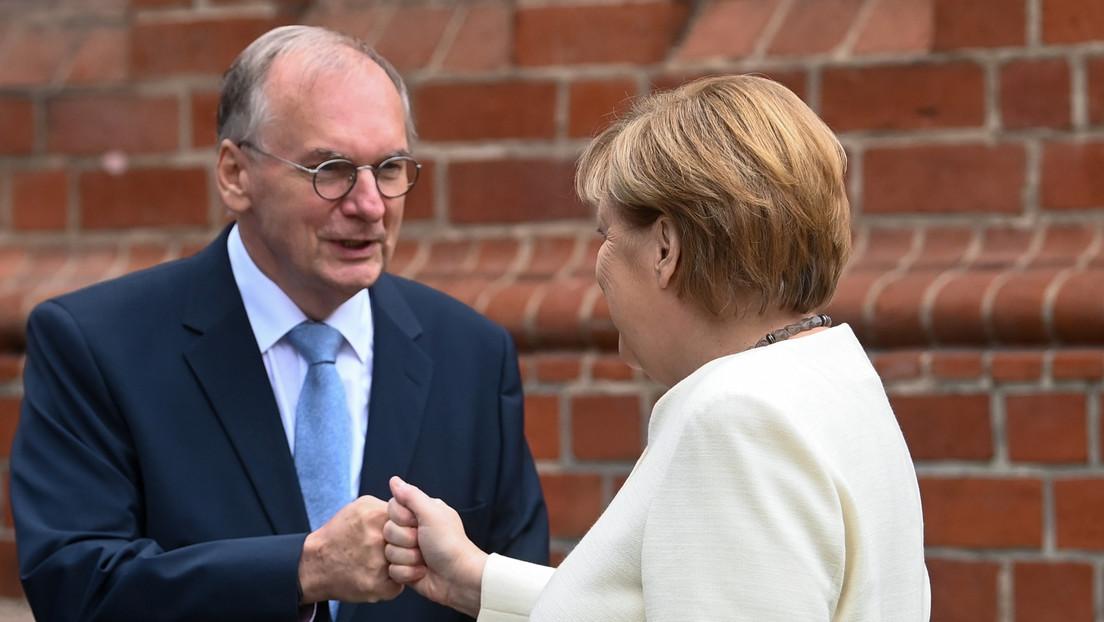 """LIVE: Feierlichkeiten zum Tag der Deutschen Einheit – Merkel hält """"letzte große Schlussrede"""""""