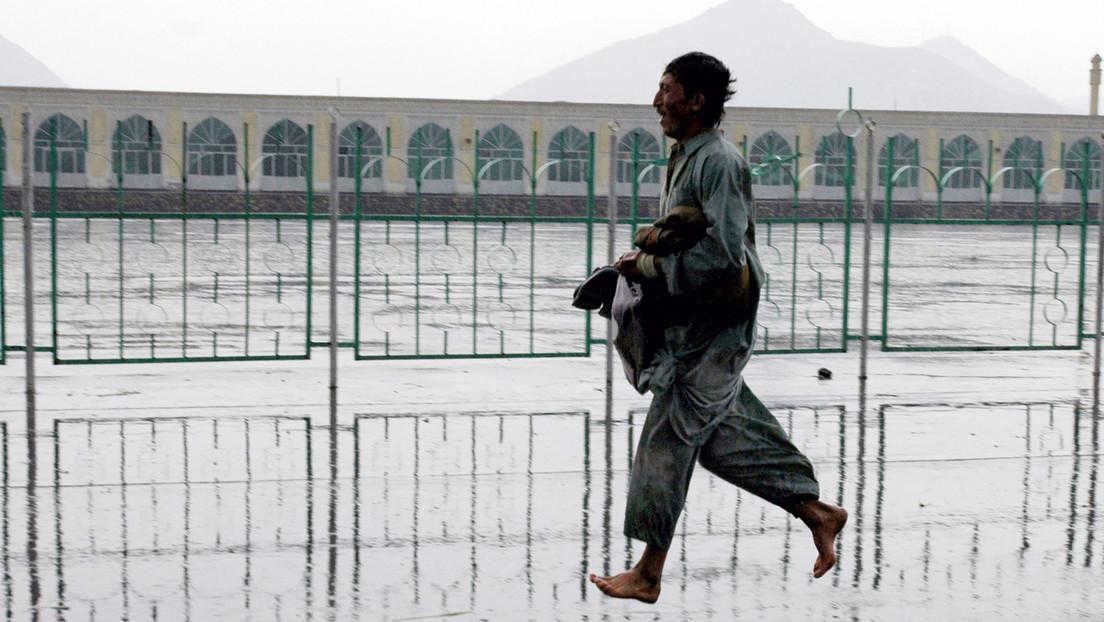 Medien: Starke Explosion in Kabul unweit von Moschee
